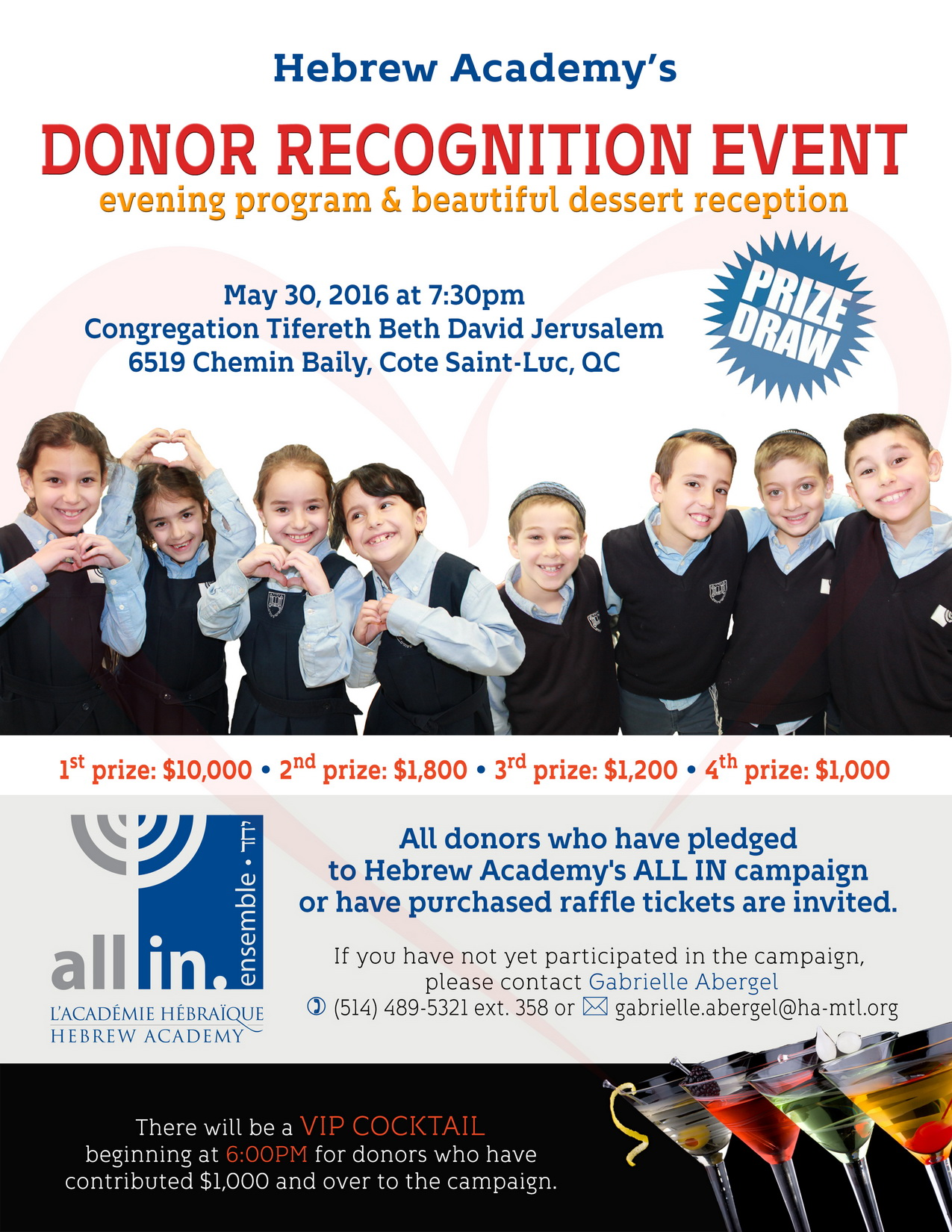 Donor Recognition Event #1