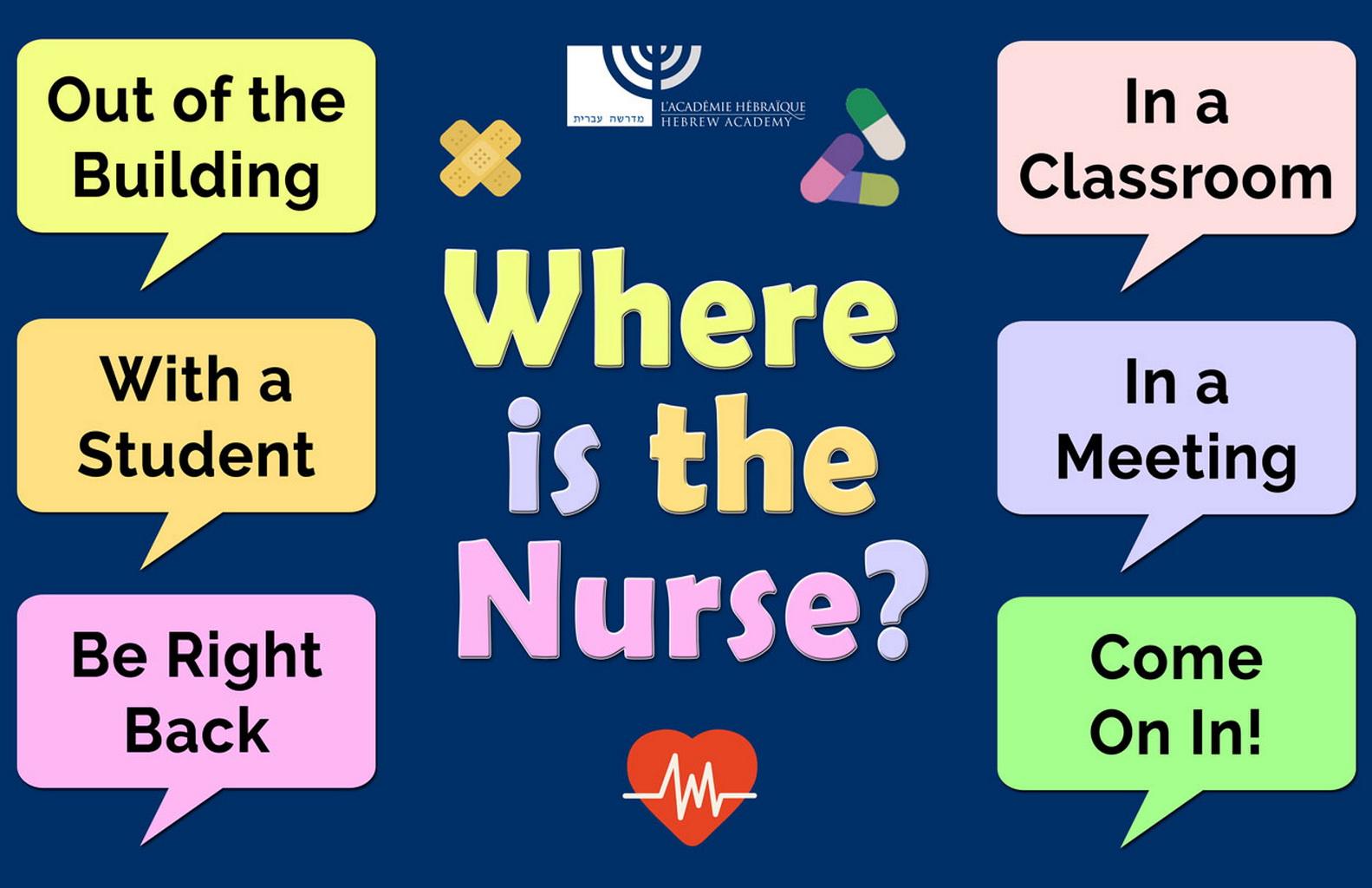 Where Is the Nurse