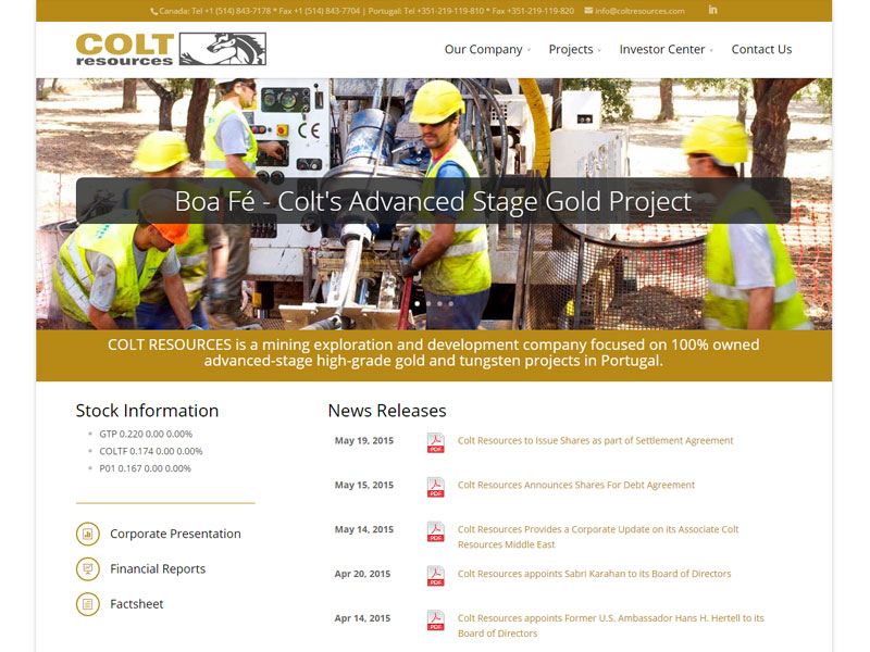 Colt Resources