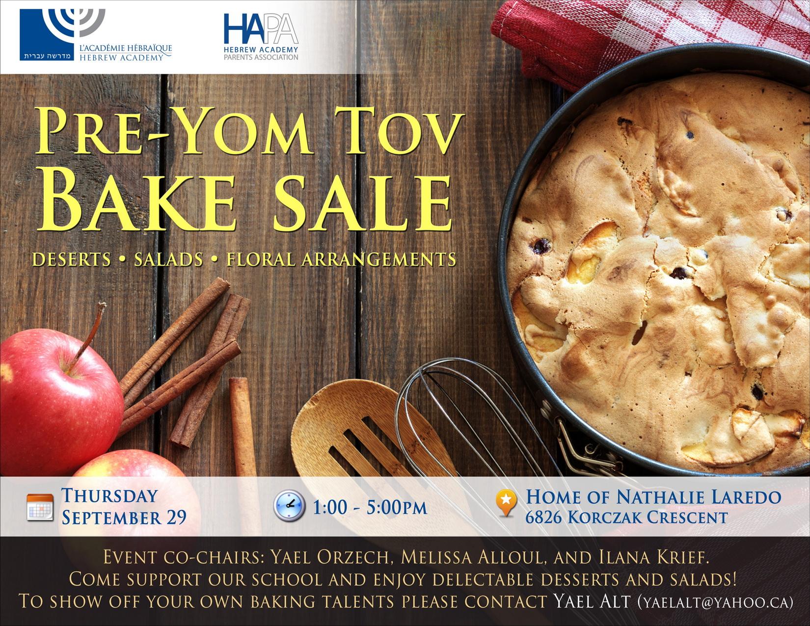 HAPA Bake Sale