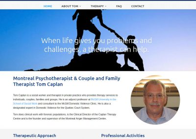 Tom Caplan Therapist